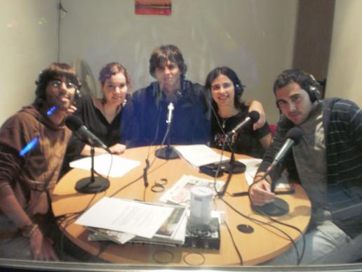 """Grupo radiofónico: """"Sonidos de la tierra"""""""