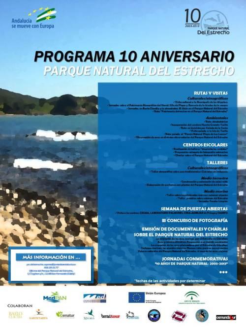 Cartel Prgrama 10º Aniversario